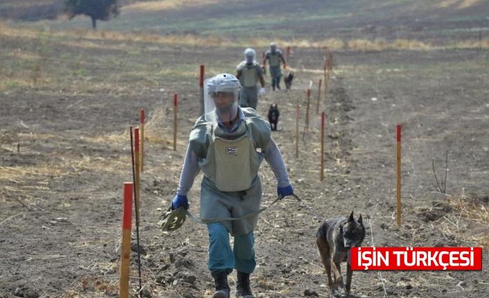 Azerbaycan'da Ermenistan işgalinden kurtarılan kentlerde 10 aydır mayın temizliği yapılıyor