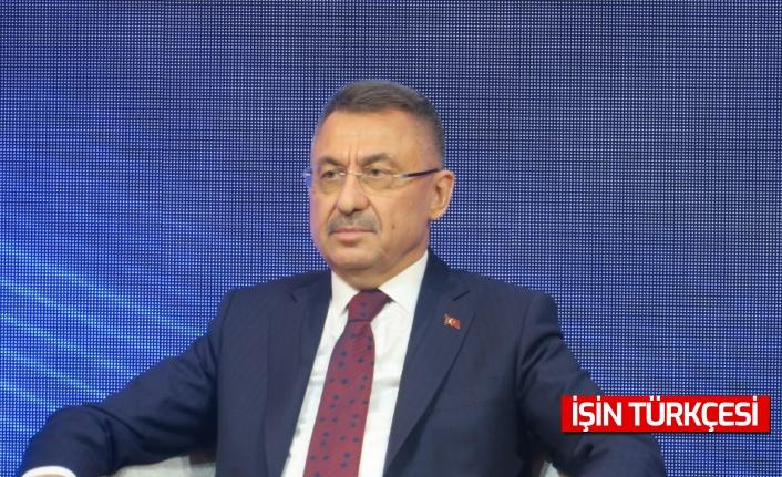 """Cumhurbaşkanı Yardımcısı Fuat Oktay: """"Kırgızistan ile ticaret hacmimiz, 2021 yılının ilk 8 ayında yüzde 78 oranında artmıştır."""""""