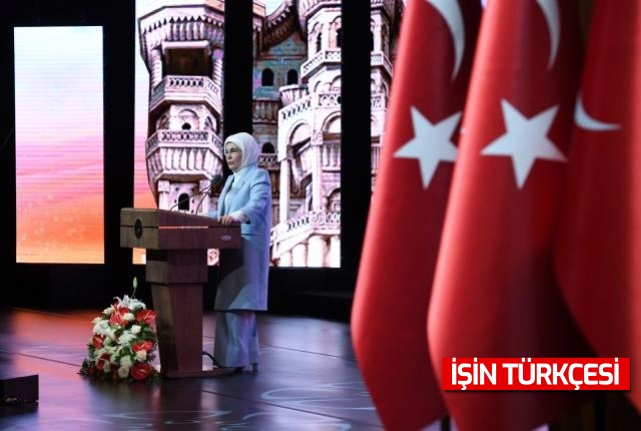 """Emine Erdoğan: """"2021 sonuna kadar, insan yoğunluğunun olduğu yerlerin tamamında, sıfır atık sistemleri kurulacak"""""""