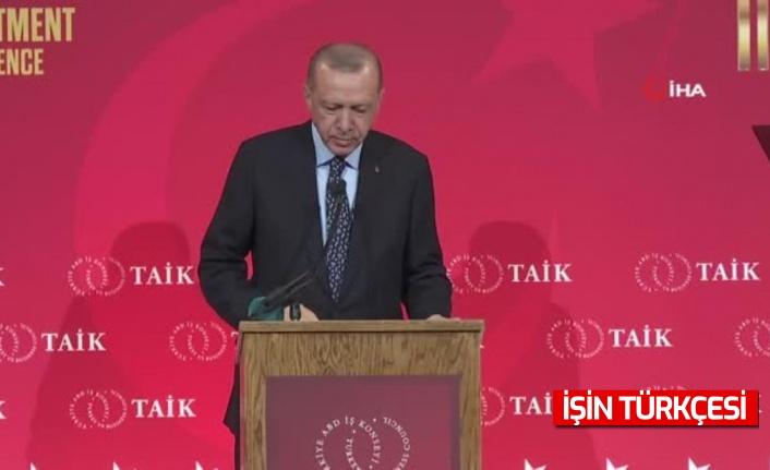 Erdoğan, ABD'de iş adamlarına seslendi