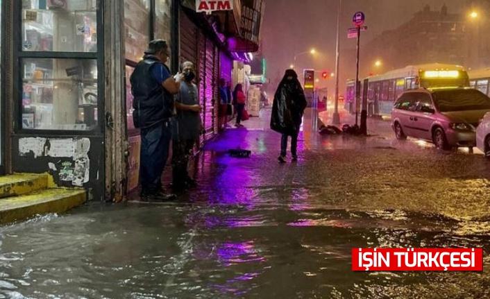 Ida kasırgası, New York'u su altında bıraktı