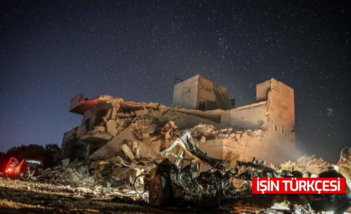 İdlib'e saldırı: 4 sivil öldü 2 sivil yaralandı