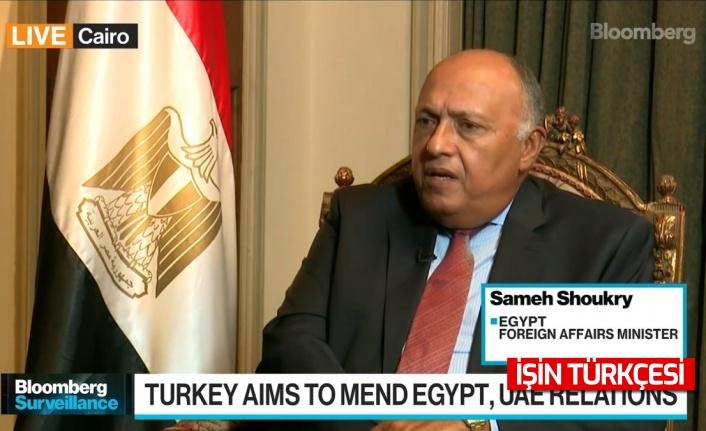 Mısır Dışişleri Bakanı Sami Şükrü: Türkiye ile ilişkileri yeniden tesis etmeye istekliyiz