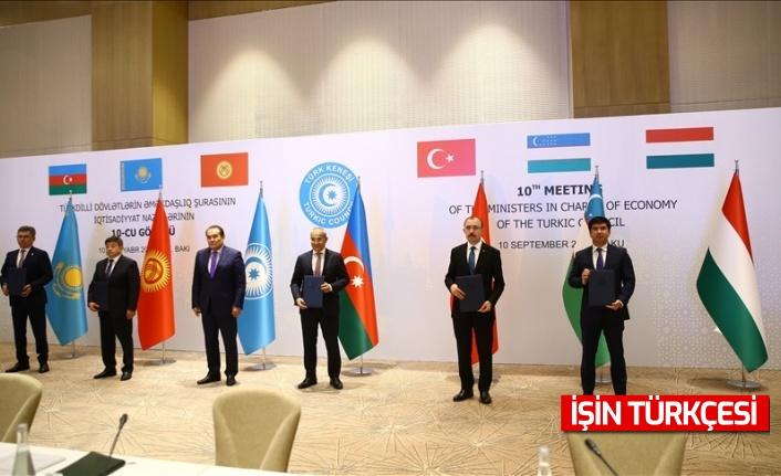 Türk Dili Konuşan Ülkeler İşbirliği Konseyi (Türk Konseyi) Ekonomiden Sorumlu Bakanlar 10. Toplantısı düzenlendi