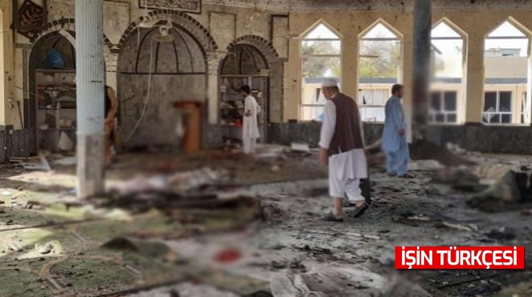 Afganistan'da cuma namazı esnasında bir camiye bombalı saldırı düzenlendi: 100 ölü, çok sayıda yaralı