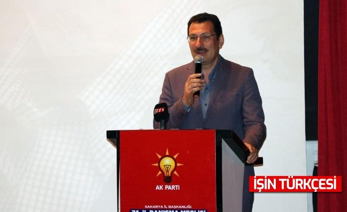 AK Parti Genel Başkan Yardımcısı Ali İhsan Yavuz, Sakarya'da konuştu