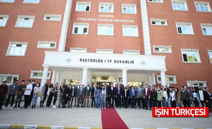 Basın İlan Kurumu Genel Müdürü Rıdvan Duran, Sakarya'da gazeteci adaylarıyla buluştu