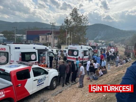 Bursa'da kimya fabrikasında meydana gelen patlamada 1 işçi öldü, 6 işçi yaralandı