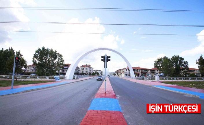Büyükşehirden Yazlık Mahallesi girişine yeni köprü