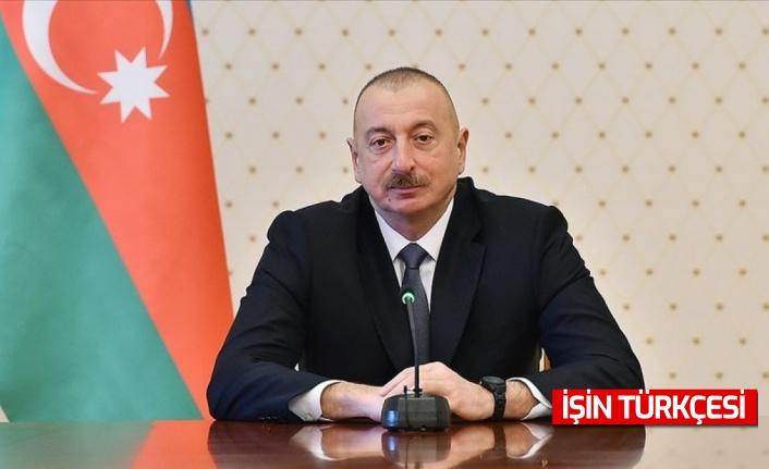 İlham Aliyev: ''Ermenistan'la ilişkiler kurmak istiyoruz.''