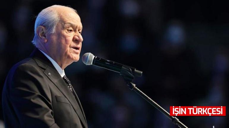 """MHP lideri Devlet Bahçeli, """"bölücü kebapçılar"""" sözleri üzerine canlı yayında açıklama yaptı"""
