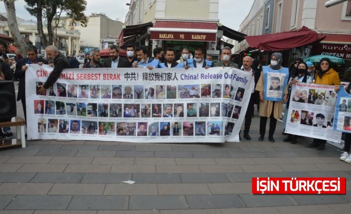 Sakarya'da Çin'in Uygur Türklerine dair politikası protesto edildi