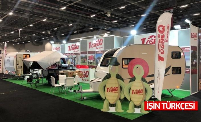 Tosbiq Karavan Camp Caravan İstanbul Fuarı'nda yeni Jr. Tosbiq Modelini tanıttı