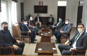 Taraklı Belediye Başkanı İbrahim Pilavcı'dan, Kaymakam Levent Küçük'e Ziyaret