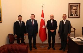 Başkan Babaoğlu Bakan Soylu ile Görüştü