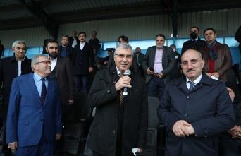 """Başkan Yüce: """"Spor şehri Sakarya hedefimize emin adımlarla ilerliyoruz"""""""