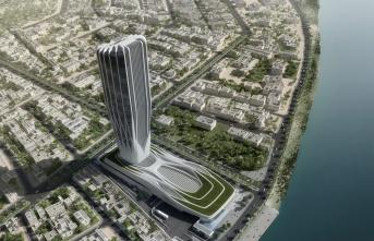Zaha Hadid'in son projesi Irak Merkez Bankası'na Doka Türkiye'den özel kalıp sistemi