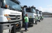 Sakarya Büyükşehir Belediyesi'nin araçları Bozkurt'a gidiyor