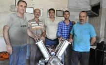 Kendi elektriğini üreten motor icat ettiler
