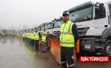 100 kişilik ekip 7/24 görevde-Büyükşehir karla mücadele için hazırlıklarını tamamladı.