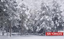 Taraklı'da kar kalınlığı 45 santimi buldu