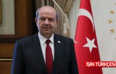 """KKTC Cumhurbaşkanı Ersin Tatar: """"Egemenliğe, devlete, TÜRKİYE 'ye sarılın."""""""