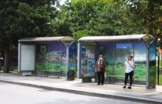 """Büyükşehir, şehirdeki otobüs duraklarına  """"Sakarya Bir Başka"""" sloganıyla doğal güzellikleri işledi!"""