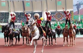 Türkmenistan 26. bağımsızlık kutlamaları