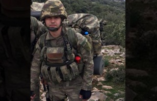 Oğuz Kağan Üsteğmen Afrin'de şehit düştü