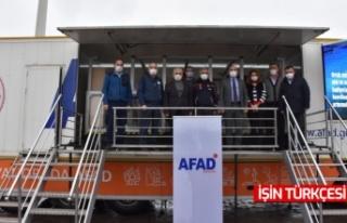 Başkan Kılıç , AFAD Deprem Simülasyon Tırında