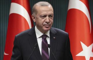 Cumhurbaşkanı Erdoğan, Telegram'dan paylaşımda...