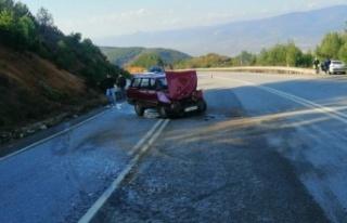 Geyve'de trafik kazasında 3 kişi yaralandı