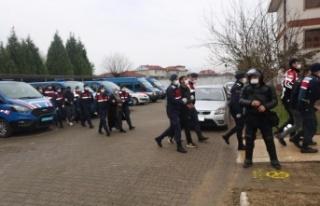 Jandarma suçlulara göz açtırmadı