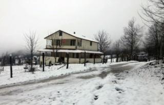 Sakarya'da yüksek kesimlere yılın ilk karı düştü