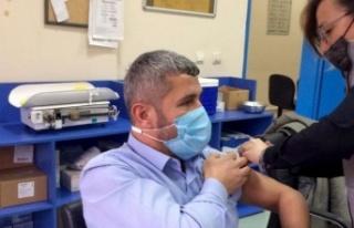 SBB Tıp Merkezi sağlık çalışanları CoronaVac...