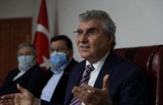 """Başkan Ekrem Yüce,""""26 milyon TL'lik yatırımı..."""