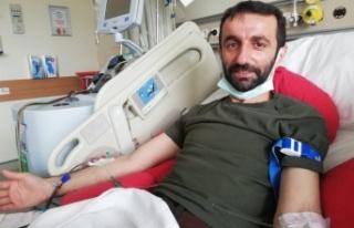 Başkan Münir Ali Kara Kök Hücre Nakli Bağışı...