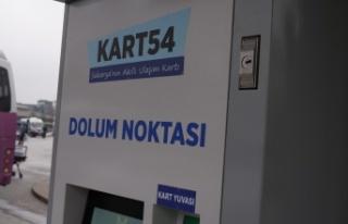 Kuzey Terminali'ne Kart54 Noktası