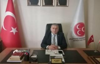 MHP Akyazı İlçe Teşkilat Başkanı Dertli Covid-19...