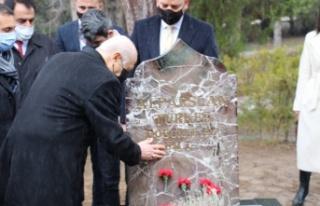 MHP lideri Bahçeli'den Alparslan Türkeş'in...