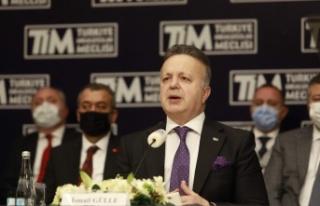"""TİM Başkanı Gülle: """"Yakında Türkiye Lojistik..."""