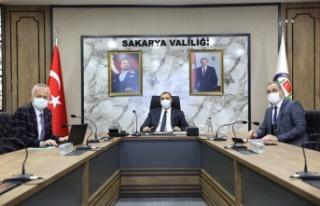 Vali Kaldırım'ın Başkanlığında Tüm İlçeleri...