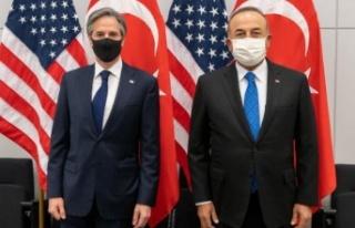 Bakan Çavuşoğlu ABD'li mevkidaşı Blinken ile...