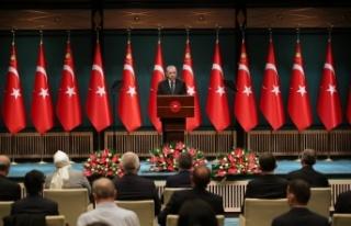 """Cumhurbaşkanı Erdoğan: """"Tedbirleri biraz daha..."""