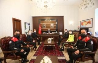 """Emniyet Teşkilatından Vali Kaldırım'a """"10..."""