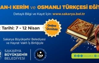 Kuran'ı Kerim ve Osmanlı Türkçesi eğitimleri...