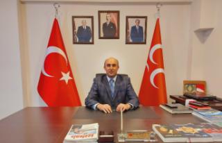 """MHP Adapazarı İlçe Başkanı Recep Usta: """"Türk..."""