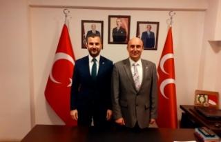MHP Adapazarı'nda Bayrak Değişimi