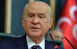 MHP Genel Başkanı Devlet Bahçeli, Partisinin Grup...