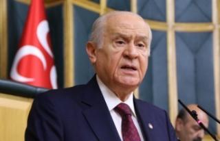 """MHP lideri Bahçeli: """"Anayasa Mahkemesi'nin de..."""